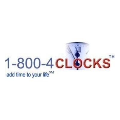 1-800-4Clocks Vouchers