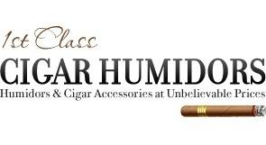 1st Class Cigar Humidors Vouchers