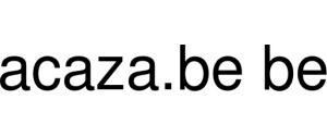 Acaza.be Be Logo
