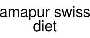 Amapur Swiss Diet Logo