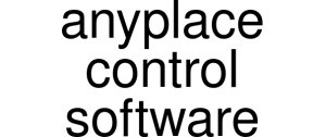 Anyplace Control Software Vouchers