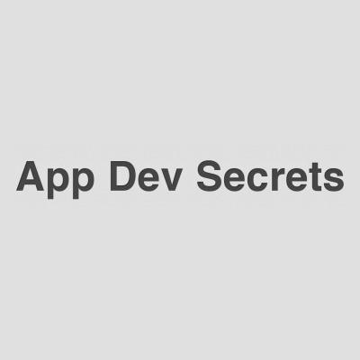 App Dev Secrets Vouchers