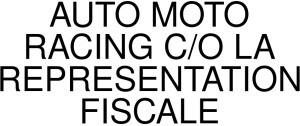 AUTO MOTO RACING C/O LA REPRESENTATION FISCALE Logo