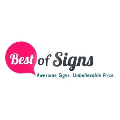 Best Of Signs Vouchers