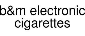 B&m Electronic Cigarettes Logo