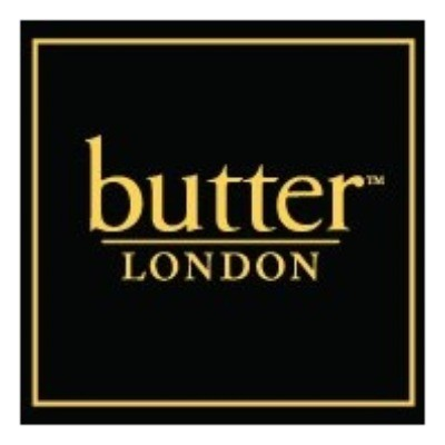 Butter London Vouchers