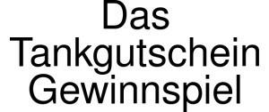 Das Tankgutschein Gewinnspiel Logo