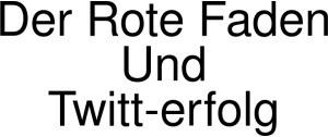 Der Rote Faden Und Twitt-erfolg Logo