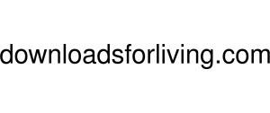 Downloadsforliving Logo