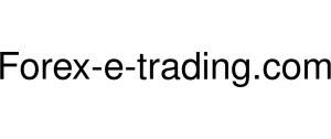Forex-e-trading Logo