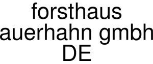 Forsthaus Auerhahn Gmbh DE Logo