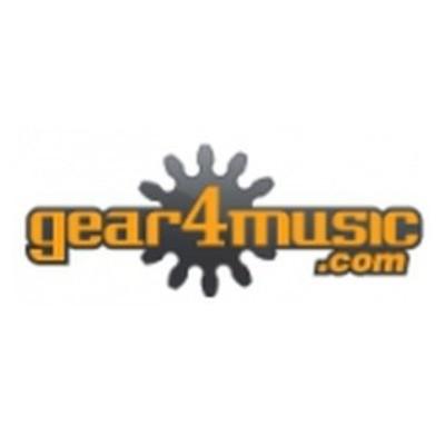 Gear4Music Vouchers