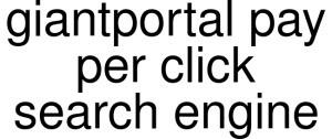 Giantportal Pay Per Click Search Engine Logo