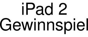 IPad 2 Gewinnspiel Logo