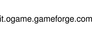 It.ogame.gameforge Logo