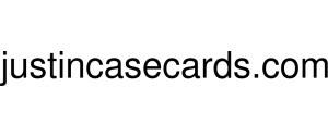 Justincasecards Logo