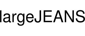 LargeJEANS Logo