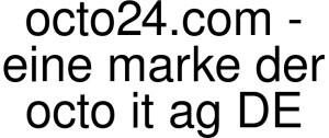 Octo24.com - Eine Marke Der Octo It Ag DE Logo