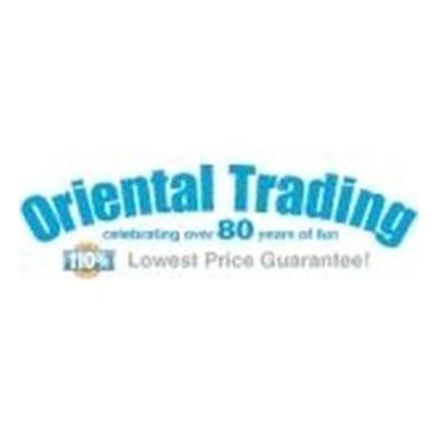 Oriental Trading Vouchers