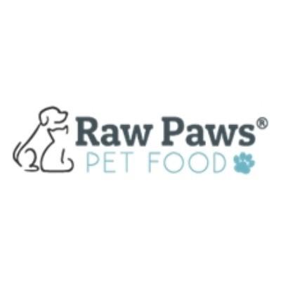 Raw Paws Pet Food Vouchers
