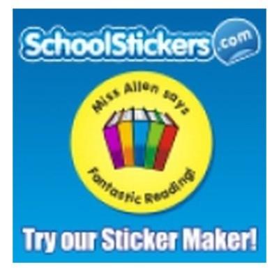 School Stickers Vouchers