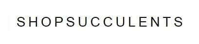 Shop Succulents Vouchers