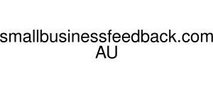 Smallbusinessfeedback.com AU Logo