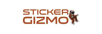 Sticker Gizmo Logo