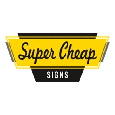 Super Cheap Signs Logo