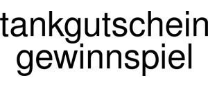 Tankgutschein Gewinnspiel Logo