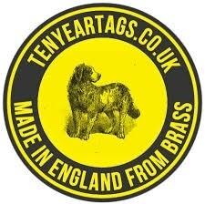 Ten Year Tags Logo