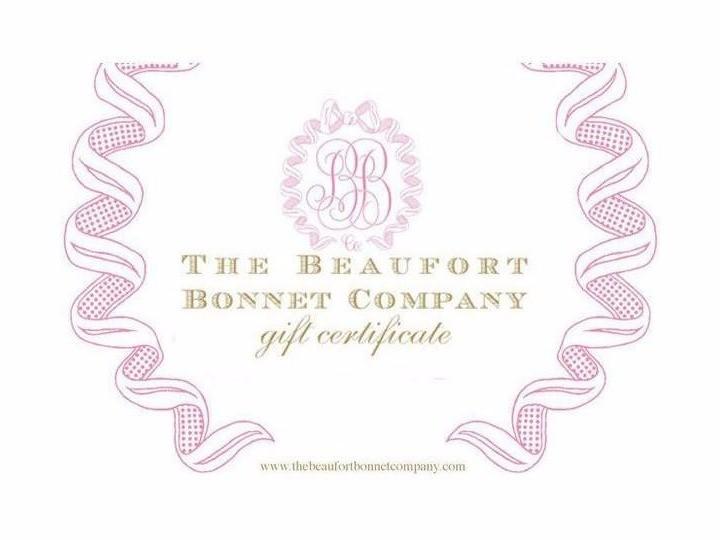 The Beaufort Bonnet Company Vouchers