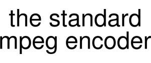The Standard Mpeg Encoder Vouchers