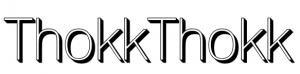 Thokkthokk - Designer T-Shirts Aus Biobaumwolle Logo