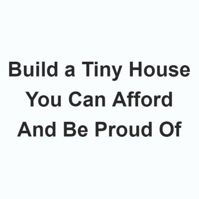 Tiny House Design Build Logo