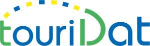 """TouriDat - """"Einfach. Ein Paar. Schöne Tage."""" Logo"""