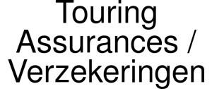 Touring Assurances / Verzekeringen Logo