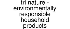 Tri Nature - Environmentally Responsible Household Products Logo