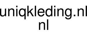 Uniqkleding.nl Logo