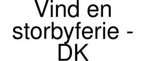 Vind En Storbyferie Logo